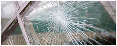 Wyrley Smashed Glass